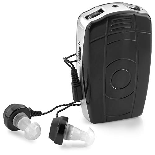 Digital Personal Sound and Voice Amplifier with Single Ear and Double Ear Headphone Earbuds with Microphones The Best Hearing   Adult Listening Device