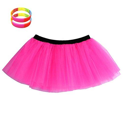 Neon Pink Tutu Skirt