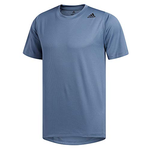 adidas Herren Freelift Sport Fitted 3-Stripes T-Shirt, Tecink, M
