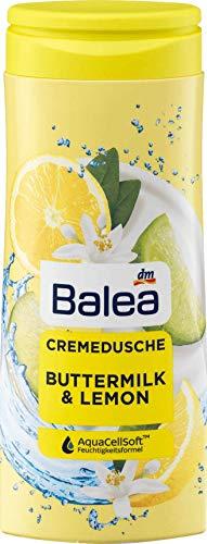 Balea Cremedusche Buttermilk&Lemon, 1 x 300 ml