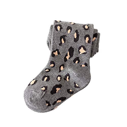 Bciou Bambino Stock Leggings Cotone Collant Bambini Leopardo Stampa Ragazze Collant 2-10 Anni Bambino Collant Caldo Inverno Collant