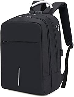 School Backpack Large Capacity School Bags for Teenage Boys with USB Charging University High School Backpack Men Women Ox...