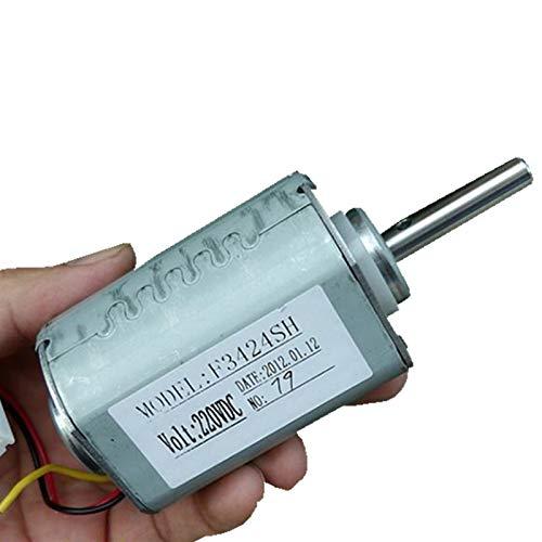 Pangocho Jinchao-Gleichspannungs Motor Micro 220V Generator Motor, Doppelkugellager Hoher Wirkungsgrad Windturbinengenerator Brushless DC Motor DIY