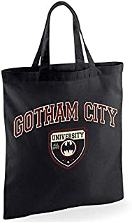 Batman Gotham City University Tote Bag