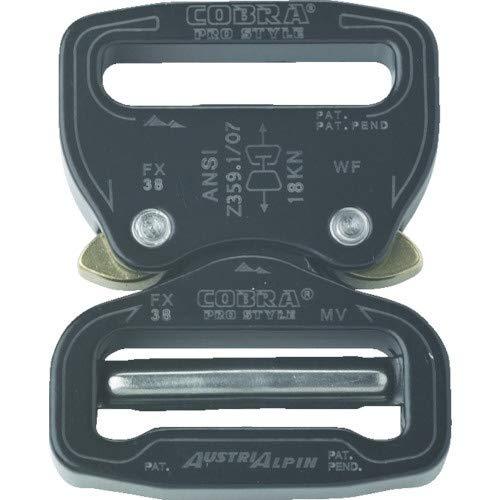 AUSTRIALPIN社 ALPIN COBRA PRO バックル 38MM ブラック FX38KVF