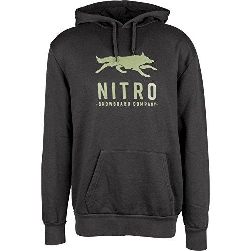 Nitro Snowboards Herren Lobos Hoodie Sweatshirt, schwarz, L