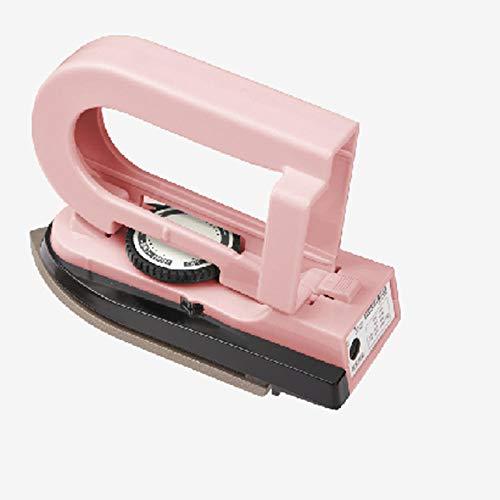 Elektrisch strijkijzer, elektrisch, draagbaar, voor zwemmen, klein, opvouwbaar, voor reizen, ophangen, strijkijzer Roze