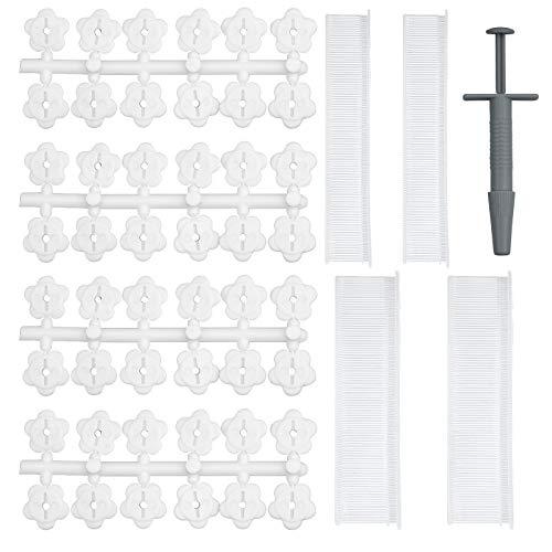 ZEHUO Clip per Copripiumino Senza Perni, 15 mm e 25 mm Fissaggi per Supporto Trapunta in Silicone Morbido per Il Fissaggio di Piumini, Lenzuola e Coperte