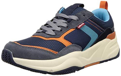 Levi's Men Eastman Navy Blue Sneakers-8 UK (42 EU) (9 US) (38107-0130)