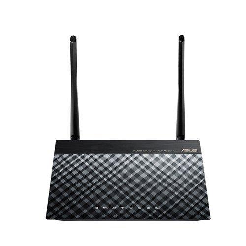 ASUS dsl-n12e C1 ADSL2 + WiFi conexión Ethernet LAN Negro
