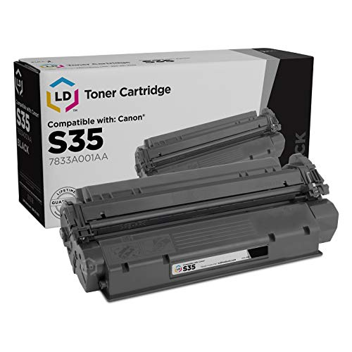 LD © Canon Remanufactured S35 (7833A001AA) Set of 2 Black Laser Toner Cartridges for use in the ICD-340, ImageClass D320, D340, D383 Printers Photo #3