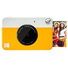ALL-IN-ONE PHOTOGRAPY - The 10-megapixel, point-and-shoot PRINTOMATIC Camera offers a combination of a powerful 10MP sensor with a wide angle f/2 lens that instantly and automatically prints hi quality color or black and white photos directly from th...