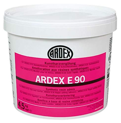 ARDEX E90 Kunstharzvergütung 4,5 kg - Zur Herstellung eines hochverformbaren, wasserabweisenden Kleberbettes (S2-Kleber).