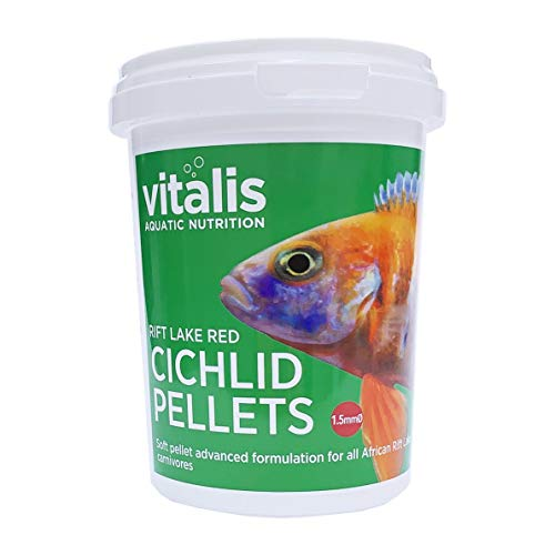 Vitalis Rift Lake Red Cichlid Pellets, 1.5 mm, 260 g