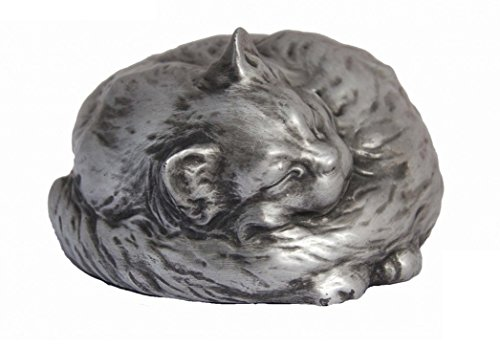 Rainbowbridge-Shadow Cat-Urne funéraire pour chat, faite à la main, pour une utilisation en...