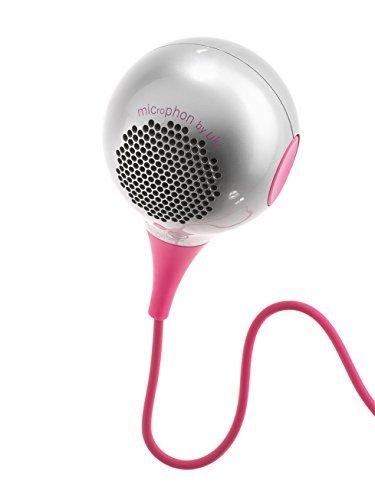 UKI 2634009 - Secador de pelo con micrófono, color rosa