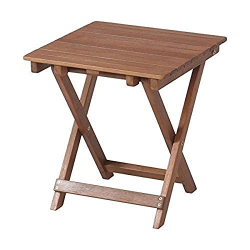 不二貿易 サイドテーブル 35cm×35cm ナチュラル 79499