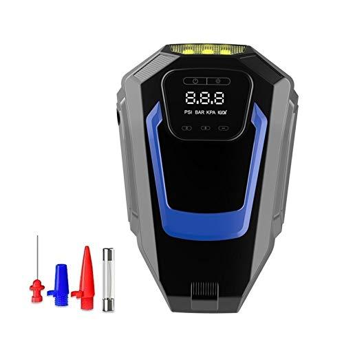 Coche De 12V Inflador De Neumáticos LED Iluminación Digital Neumático Bomba Inflable...