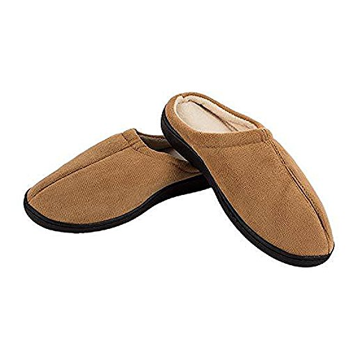 MIRACLE SLIPPERS MARRON M (39/40) - Zapatillas de Gel Anti fatiga UNISEX. Producto Original anunciado en TV