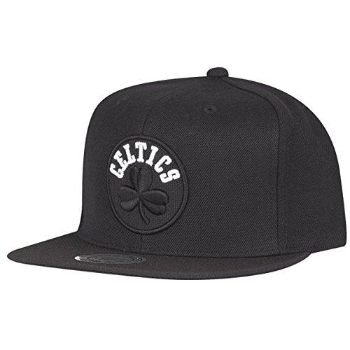 Mitchell & Ness Boston Celtics Full Dollar INTL138 Snapback Cap Black Kappe Basecap