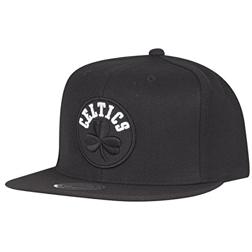 Mitchell & Ness Boston Celtics Full Dollar INTL138 Snapback Cap Black Kappe Basecap