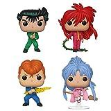 Funko Animation: Pop! Yu Hakusho Collectors Set - Yusuke, Kurama, Kuwabara, Botan