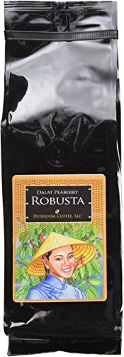 Dalat Highlands Robusta Whole Bean Coffee, 1lb