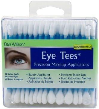 Fran Wilson Eye Tees Precision Makeup Applicator, Pack of 3