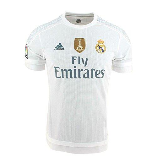 adidas 1ª Equipación Real Madrid CF 2015/2016 - Camiseta oficial con la...