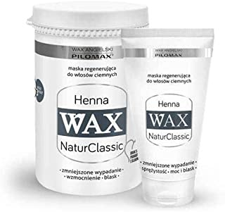 WAX NaturClassic HENNA for dark hair – henna and green tea extracts - 240 grams