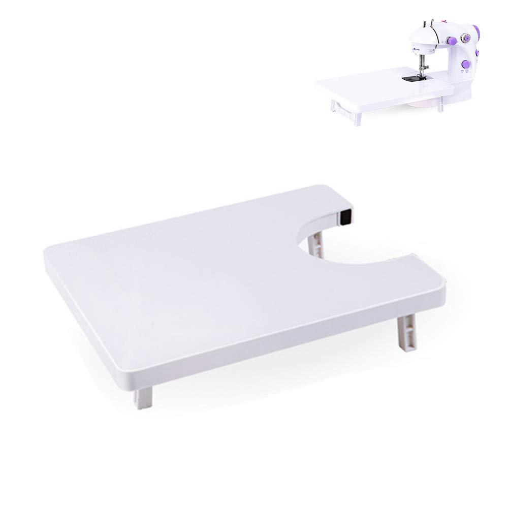 Mesa de extensión de máquina de coser universal de 25 x 20 cm para sastrería sastre herramientas de bricolaje, accesorios para máquinas de coser domésticas: Amazon.es: Hogar