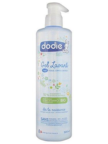 Dodie - Gel Lavant 3 en 1 - Flacon Pompe 500 ml