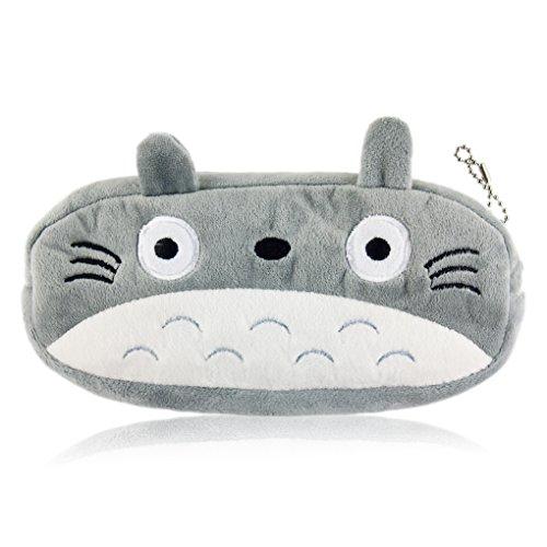 My neighbor Totoro plush pencil case bag #B by My...