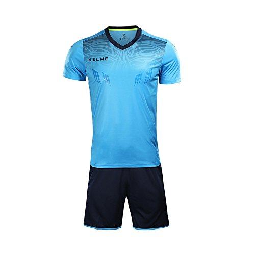 Kelme Herren Trianing Fußball-Torwarttrikot Kurzarm M blau
