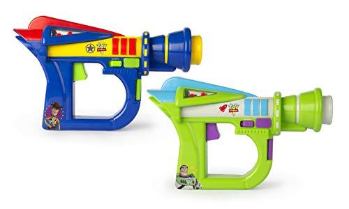 IMC Toys- Pistolas Laser Toy Story 4 ¡se el Primero en acabar con los Puntos de tu adversario, Multicolor (141124)