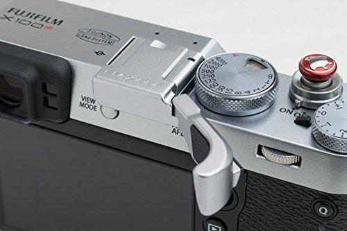Lensmate Folding Thumb Grip for Fujifilm X100F - Silver