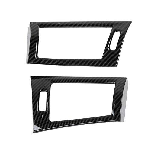 YFTGD Korean Pine 2 unids de Fibra de Carbono Textura de Aire de ventilación de ventilación de ventilación de ventilación Ajuste para BMW X3 F25 2011 2013 2014 2014 2015 2017 2017 Izquierda