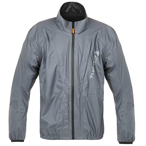 Taifun Regenjacke grau 58 - Motorrad Regenbekleidung