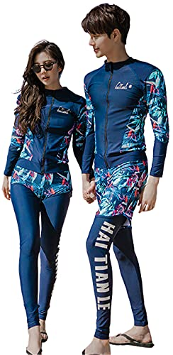 水着 メンズ ラッシュガード ペア ルック 水着 お揃い メンズ 長袖 水着 パーカー 大きいサイズ セット アップ レディース フィットネス 水着 おしゃれ 男性 ラッシュ ガード 上下 大きい サーフパンツ uvカット 夫婦 mrb0293-G-M