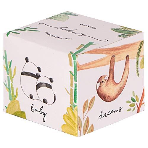 Balm's Basic Kit de 30gr con 3 bálsamos: Dreams (de lavanda para dormir y relajar), Breathe (eucalipto para respirar y síntomas de gripa), Baby (de caléndula para piel sensible, picaduras, resequedad)