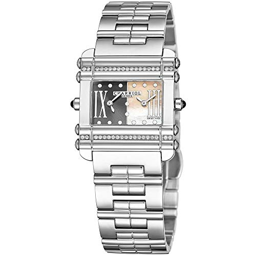 Charriol Actor Damen-Armbanduhr Diamant Schweizer Quarz CCHDTD1.110.HDT03
