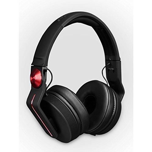 Pioneer HDJ-700 Negro, Rojo Circumaural Diadema auricular - Auriculares (Circumaural, Diadema, Alámbrico, 5 - 28000 Hz, 1,2 m, Negro, Rojo)