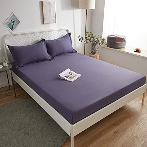 BOLO Las sábanas tienen bolsillos profundos, cómodos y resistentes a las arrugas, 150 x 190 cm+30 cm