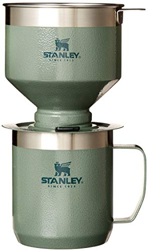Stanley The Camp Pour Over Coffee Maker Set, Stainless Steel Filter, in Home or Office Coffee Brewing