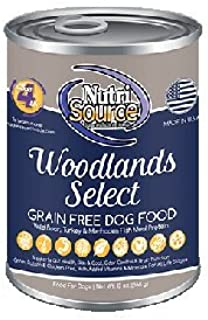 NutriSource Grain Canned Woodlands Select