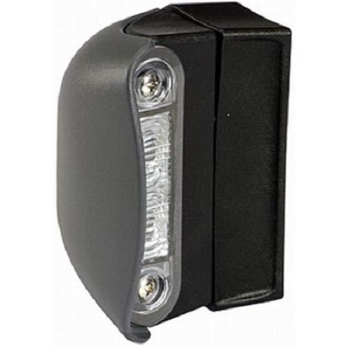 HELLA 2KA 959 640-607 Feu éclaireur de plaque - LED - 12/24V - Montage en saillie - Couleur du voyant: limpide - Couleur LED: limpide - Câble: 2500mm
