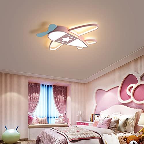 Lámpara LED de techo para habitación infantil, salón, cocina, dormitorio, lámpara de techo, dibujos animados, lámpara de avión, decorativa lámpara colgante moderna, diseño clásico,