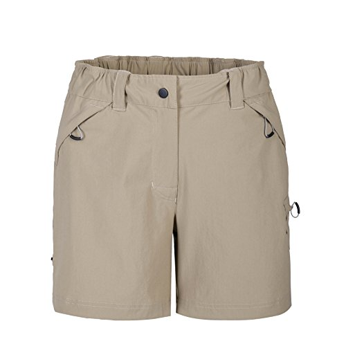 MOHEEN Women's Backcountry Short (S,Dark Grey)