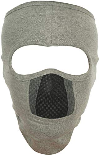 H-Store Lycra Face Mask (Grey, 1 Piece) for Women