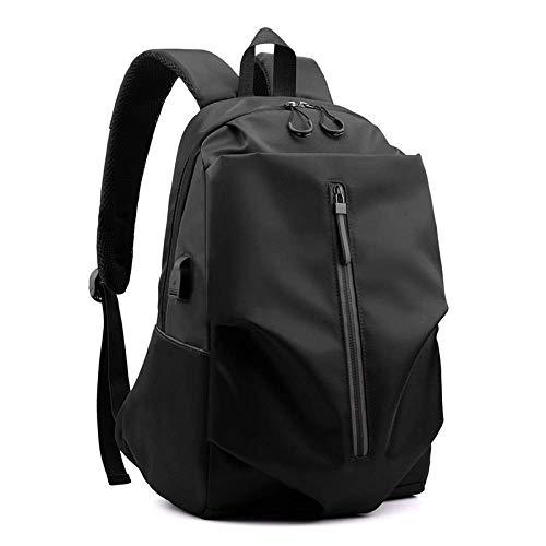 Rucksack, Computer Tasche, Modische Oxford Tuch, Plissee Rucksack, Rucksack, Große Kapazität, USB Lade Computer Tasche, Schule Tasche